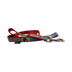RED SWIMMABLE DOG LEAD