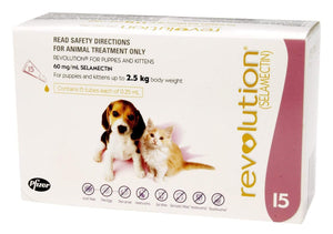 Revolution Mauve Puppies & Kittens (15 Pack)