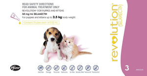 Revolution Mauve Puppies & Kittens (3 Pack)