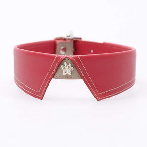 SAVILLE ROW RED DOG COLLAR