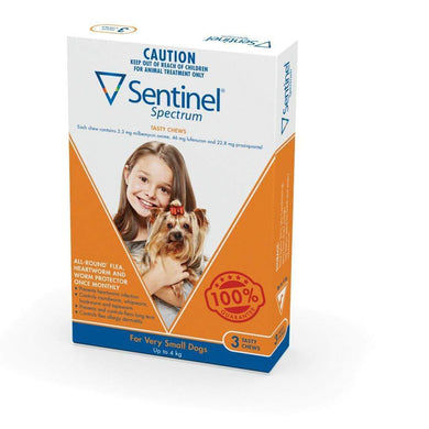 Sentinel Chew Brown Very Small (3 Pack)
