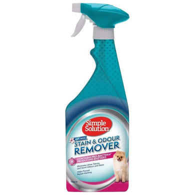 Simple Solution Dog Stain & Odour Remover 750ml - Spring Breeze
