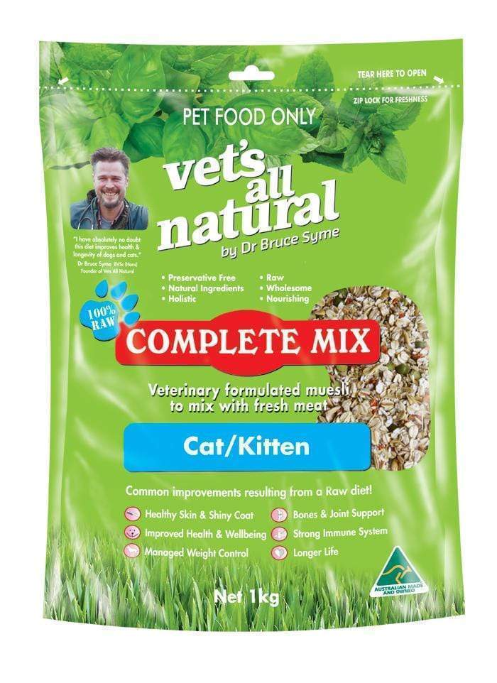 Vets All Natural Complete Mix 1 kg Cat and Kitten