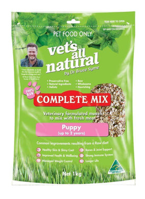 Vets All Natural Complete Mix 1 kg Puppy
