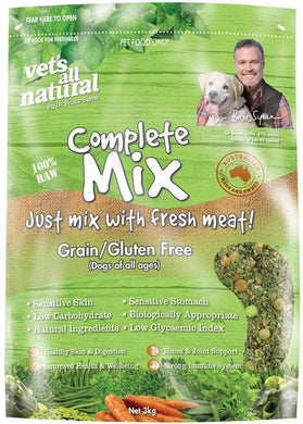 Vets All Natural Complete Mix 3kg Grain/Gluten Free