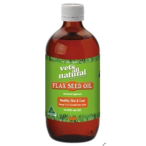 Vets All Natural Flax Seed Oil 200ml
