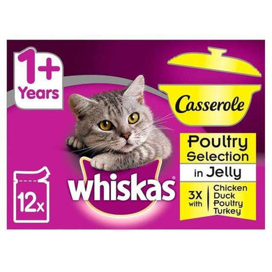 Whiskas Favourites Jelly Variety 12x85g