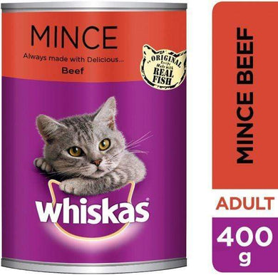 Whiskas Minced Beef 24x400g