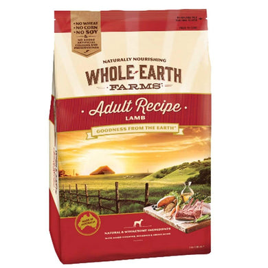 Whole Earth Farms Adult Recipe With Lamb - 15Kg