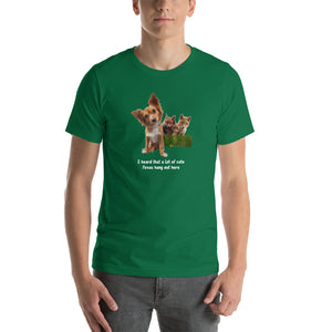 'Cute Foxes' - Unisex Premium T-Shirt