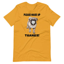 Load image into Gallery viewer, 'Cute Masked Pug' - Unisex Premium T-Shirt