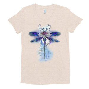 'Crystaline Dragonfly' - Women's Crew Neck T-shirt