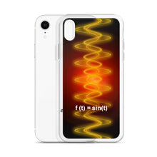 Load image into Gallery viewer, iPhone Case - Radiant Sine Wave Red-Org