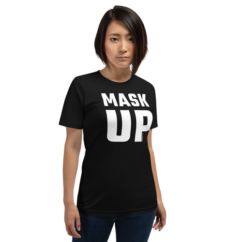 'Big Mask-Up' - Unisex Premium T-Shirt (dark)
