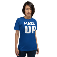 Load image into Gallery viewer, 'Big Mask-Up' - Unisex Premium T-Shirt (dark)