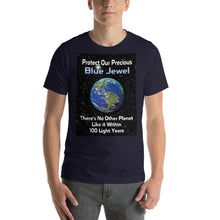 Load image into Gallery viewer, 'Blue Jewel Earth' - Unisex Premium T-Shirt