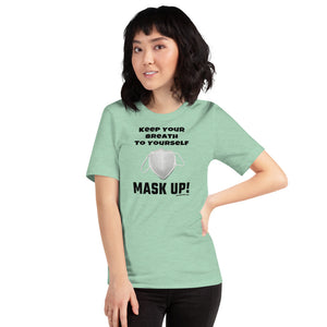 'Mask-Up' - Unisex Premium T-Shirt