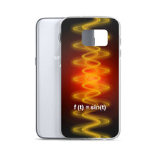Load image into Gallery viewer, Samsung Case - Radiant Sine Wave Red-Org