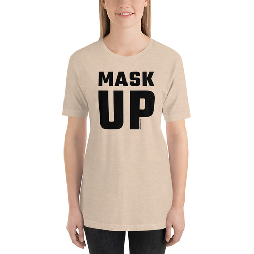 'Big Mask-Up' - Unisex Premium T-Shirt (light)