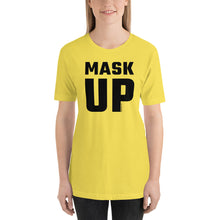 Load image into Gallery viewer, 'Big Mask-Up' - Unisex Premium T-Shirt (light)