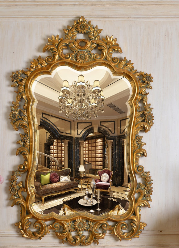 Framed Mirror PU663 - Al jameel Showroom