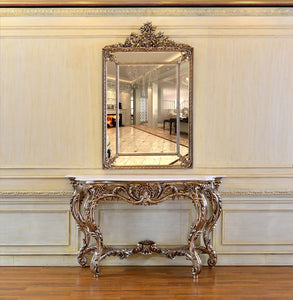 CONSOLE + MIRROR C219/PU728AS - Al jameel Showroom