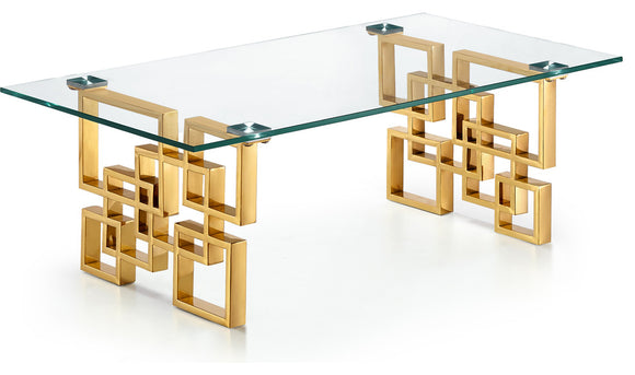 CT345 - ET246 Coffee Table #Gold
