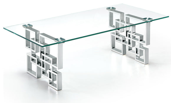 CT246 - ET246 COFFEE TABLE #Silver