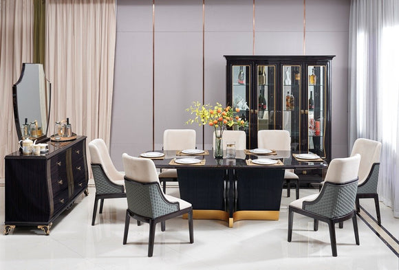 DINING TABLE 8821-5 (3.0MTR) - Al jameel Showroom