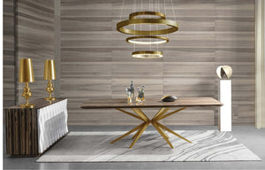 DINING TABLE LZ-193DT/193B/L-081 - Al jameel Showroom