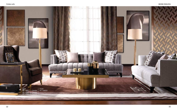 SOFA HF-8301/6965C - Al jameel Showroom