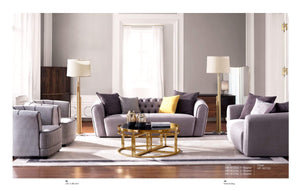 SOFA HF-8325A/6312C (GREY) - Al jameel Showroom