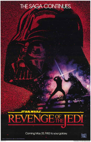 Revenge of the Jedi original poster