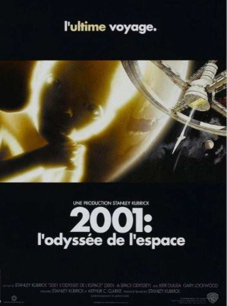 2001: A Space Odyssey (French) - Printed Originals