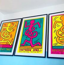Load image into Gallery viewer, Keith Haring Montreux Jazz Festival Yellow