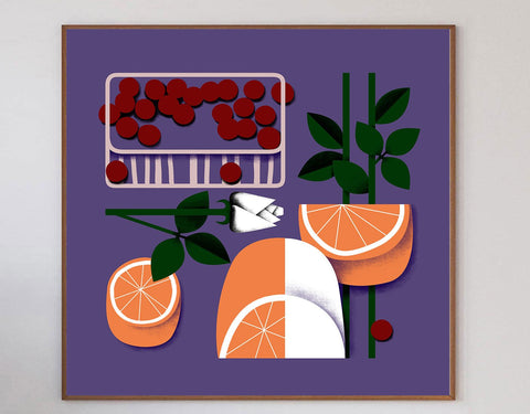 Food Market Art Print