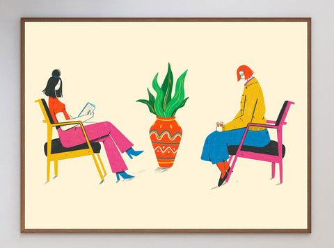 The Waiting Room Limited Art Print