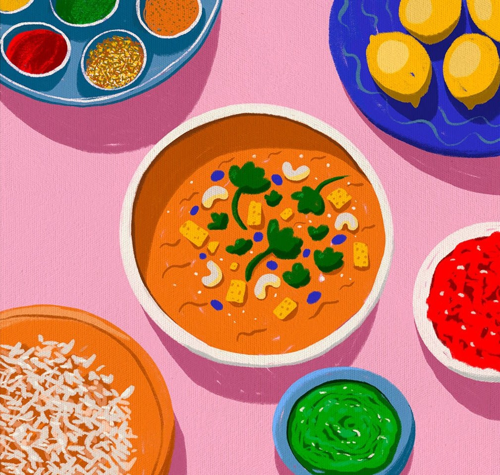 Still Life: Curry Night Limited Art Print