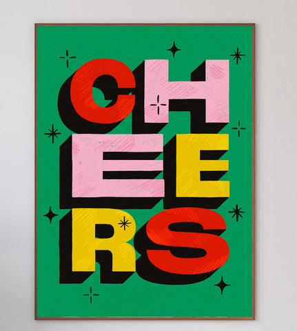 Cheers Limited Art Print