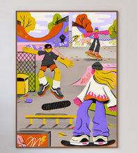 Load image into Gallery viewer, Afternoon Skatepark Limited Art Print