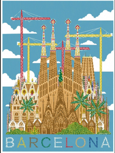 Barcelona Limited Art Print