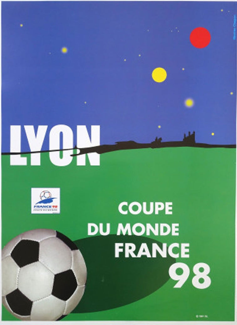 World Cup France '98 Lyon