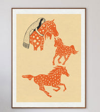 Load image into Gallery viewer, Spotted Ponies Limited Art Print