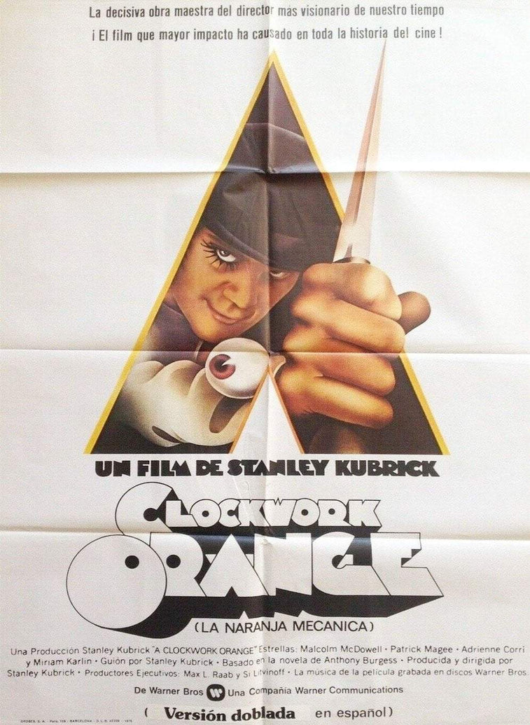 A Clockwork Orange (Spanish) - Printed Originals