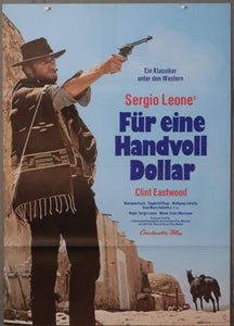A Fistful Of Dollars (German) - Printed Originals