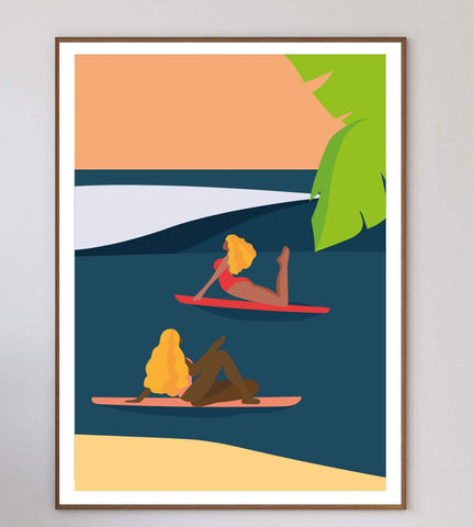 A Paradise With Friends Limited Art Print
