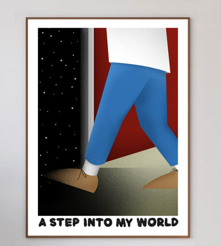 A Step Into My World Limited Art Print