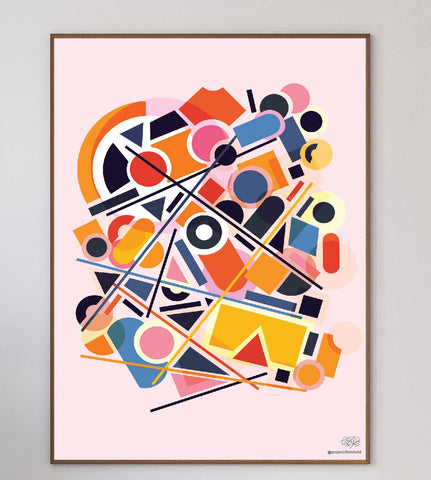 Abstrametric Art Print