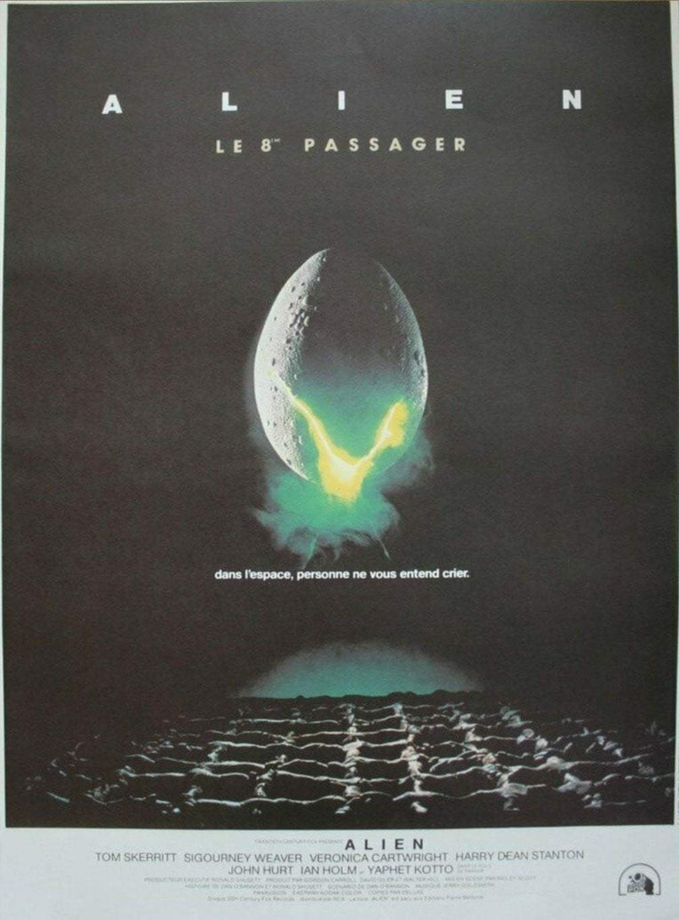 Alien (French) - Printed Originals