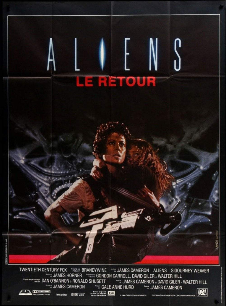 Aliens (French) - Printed Originals
